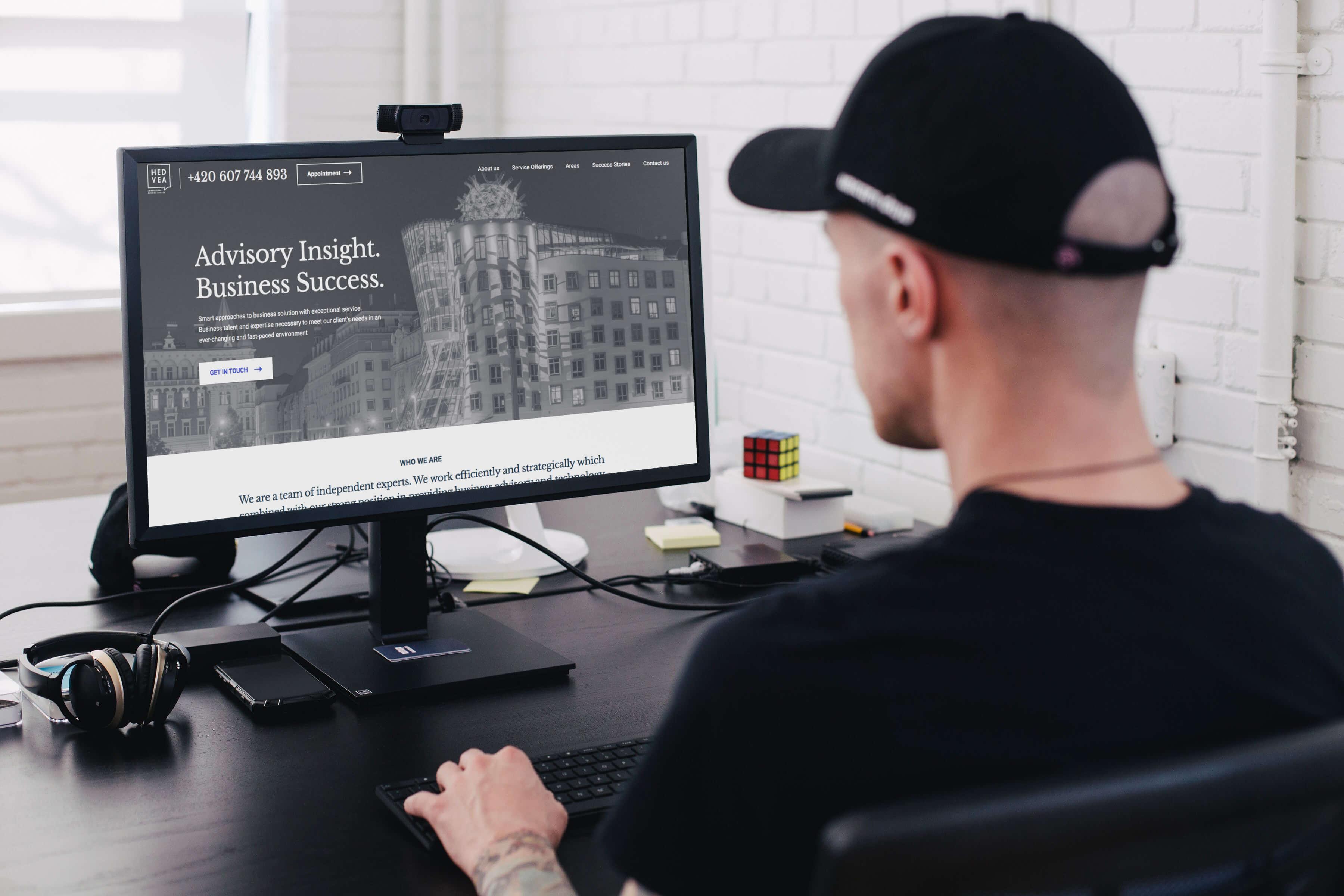 Hedvea web development