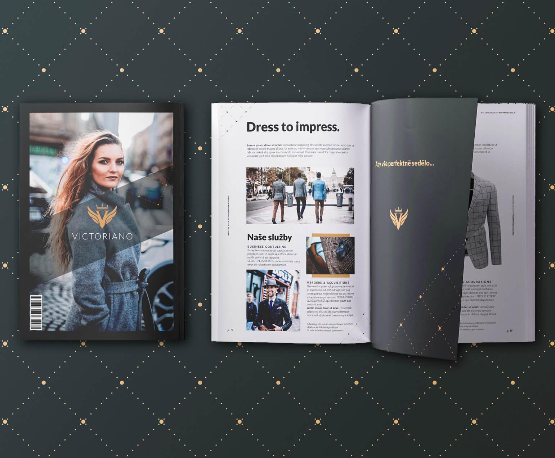 Victoriano brožura